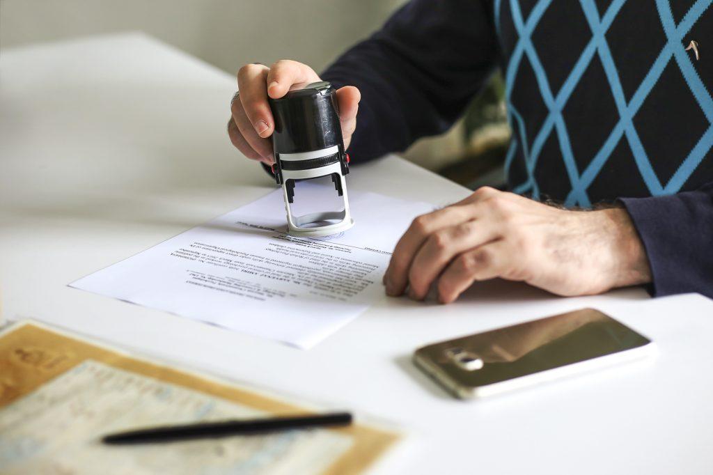 راهنمای پذیرش اسناد و مدارک